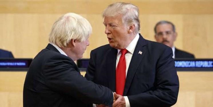 جانسون دیدار با ترامپ را لغو کرد