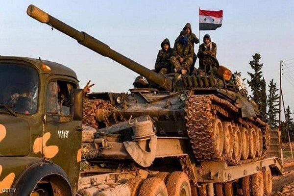 درگیری میان نیروهای سوری و عناصر تروریستی، هلاکت 9 عنصر مسلح