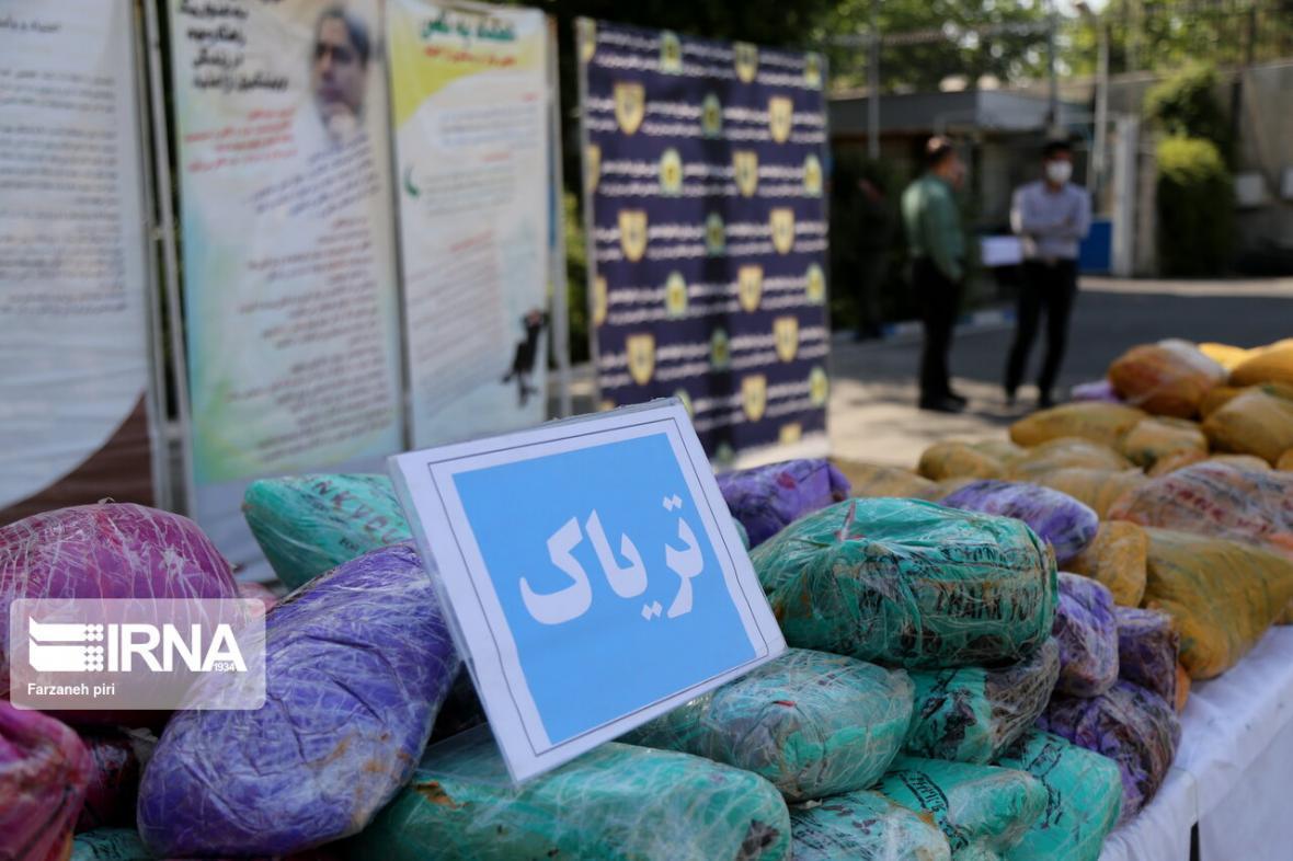 خبرنگاران کشف بیش از2 تن و 130 کیلوگرم مواد مخدر در تهران