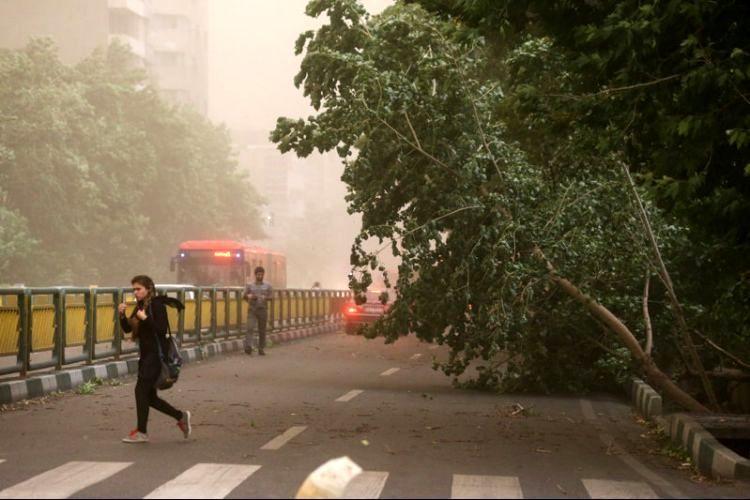 هشدار هواشناسی نسبت به وزش باد شدید در 10 استان