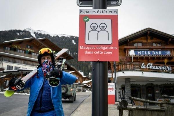 فرار صدها جهانگرد انگلیسی از قرنطینه اجباری در سوئیس
