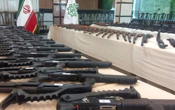 کشف محموله سنگین مهمات جنگی در خوزستان